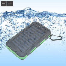Solar Power Bank Outdoor Sun Powerbank Charger Dual USB Mobile Charger Waterproof  External Battery Mobile Phone Power Bank