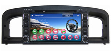 "7"" car dvd gps player for Lifan 620 Solano Car Radio Navigation TV Russian menu languge 3G+ Gift rearview camera+Navitel map"