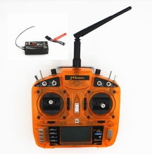 MKron 2.4GHz 8 CH T-i8 Transmitter W/ PostBack fuction,Large LCD Screen W/ MK810 Receiver for HelicoptersQuadcopter(MODE1,MODE2)(China)