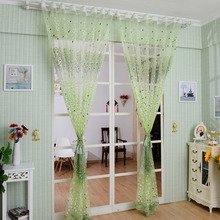1Pcs Home Textile Tree Window Curtains Blinds Voile Tulle Shower Curtain Sheer Panel Drapes For Bedroom Livingroom Decoration