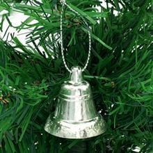 Christmas Tree Decorations metal golden bell christmas deco supplies Opening bell trumpet bells