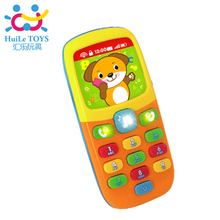 Baby Kids Learning Study Musical Sound Cell Phone Children Educational Toys,mobile kids phones,learning toy mobile phone(China)