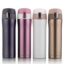 Cute Lovers Women Thermo Mug Coffee Cup My Water Bottle Stainless Steel Vacuum Flasks Thermoses School Travel Insulated thermos