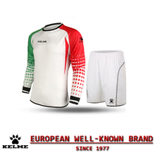 KELME Men Football Keepers Kleding Goleiro Uniforme Goalkeeper Football Uniform Customize Football Sets Voetbal Keeper Tenue 28