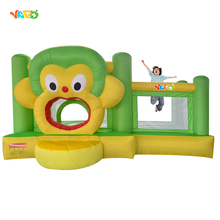 YARD Inflatable Jumping House Kids Outdoor Play Toys Bouncers Resdiential Inflatable Trampoline for Children Party Events