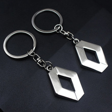 3D Metal Car Key Ring for Renault 1Pc Fashion Brand New Auto Supplies Renault Emblem Keychain Reynolds Car Accessories Key Chain