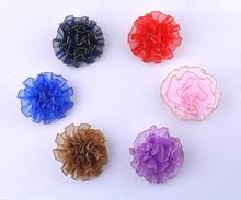 12pcs Colorful Flower Brooch Classic Fashion Lady New Lapel Pin Boutonniere Suit Wedding Party Long Lapel Pin