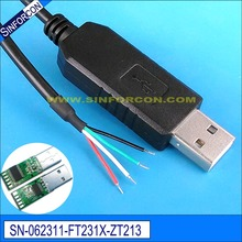 win8 10 android mac linux win ce ftdi usb serial rs232 adapter cable wire end for mcu plc scanner pos(China)