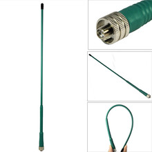 OPPXUN FP405 Dual Band VHF UHF Antenna SMA Female High Gain for Kenwood BAOFENG UV5R