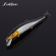 Fulljion Big Minnow Fishing Lures Hard Floating Wobblers Crankbait Winter Fishing Tackle 3D Eyes Artificial Isca Baits Pesca