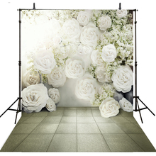 Floral Wedding Photography Backdrops Vinyl Backdrop For Photography Camera Fotografica Wedding Background For Photo Studio