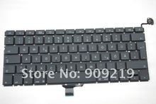 "Brand New German GR Keyboard for 13.3"" Macbook Pro Unibody A1278 MC374 MB990 MB991 MB466(China)"