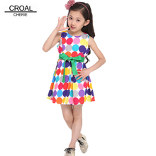 Cute Bow Toddlers Girls Dress Girls Summer Kids Clothes Girls Dress Cute Dot Clothing For Girls Children Evening Dress White