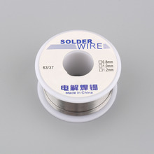 0.8mm 100g Soldering Wire Welding Wires Rosin Core Flux Solder Wire Reel Specialty 63 37 Tin Lead FLUX 2.0%(China)