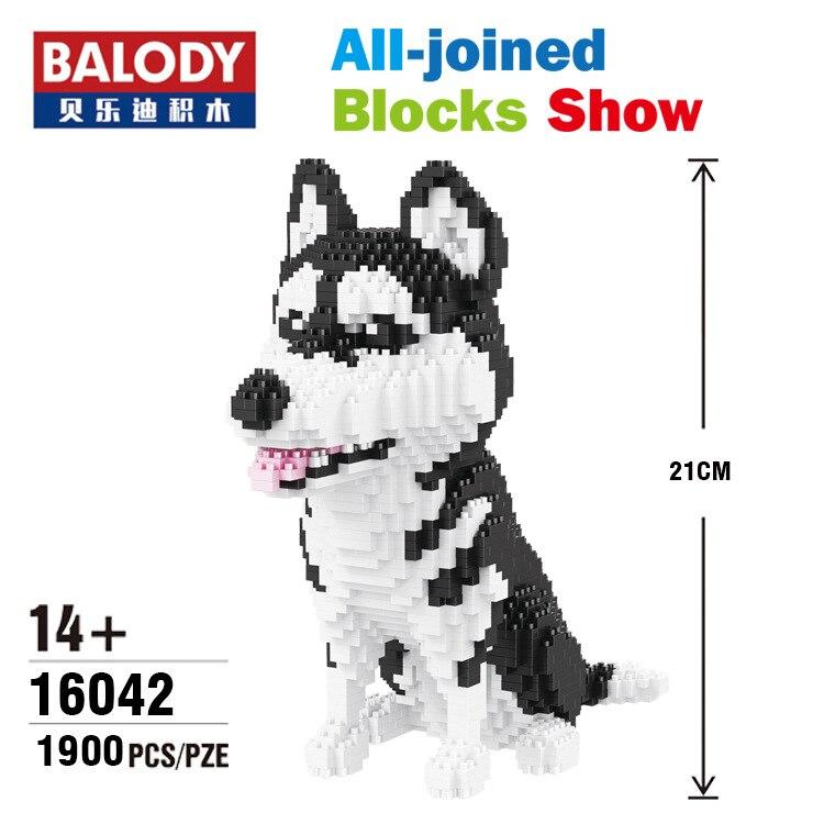 Balody-16064 Gebäude Haustier Serie Mike Bausteine Geschenk Blocks