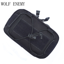 Universal Outdoor Military Tactical Bag Pouch Molle Waist Bag Fanny Pack 1000D Waterproof Phone Money Cases Outdoor Bags(China)