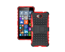 Top Quality Rugged Kickstand Armor Case for Microsoft Nokia Lumia 650 Hard Shock Proof Case With Stand Phone Accessory Funda