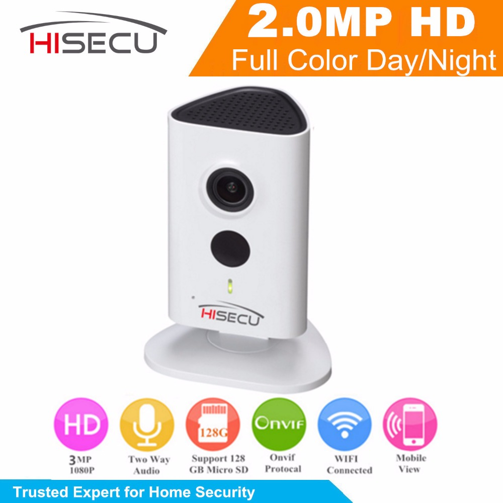 English Version 2 Megapixel WIFI Camera IPC-C35 Indoor IP Camera 1080P 10m IR Distance Wireless IP Camera Built-in Mic Speaker<br><br>Aliexpress