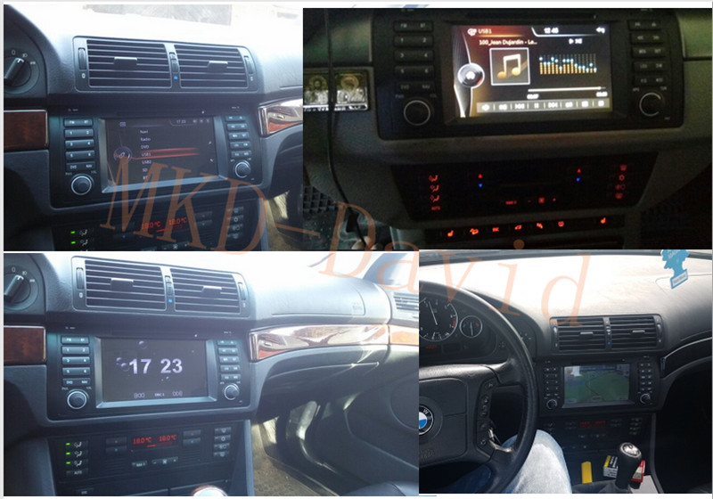BMW E53 X5/E39 5/M5 DVD Player Quad-core Android7.1 HD screen 1024×600 BT/RDS/Radio/Canbus/4G/WIFI