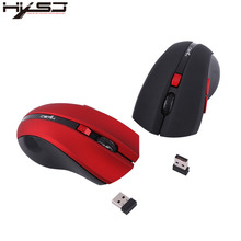 HXSJ X50 2.4G Wireless Gaming Mouse Mice Adjustable 2400 DPI with 6 Buttons Ergonomic Optical Office Laptop PC Notebook Computer(China)