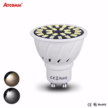 Dimmable GU10 LED Diode Spotlight Bulb 5W 110 220V Ampoule LED MR16 Lampada High Lumen No Flicker SMD 2835 74 LEDs 3 Modes Light(China)