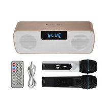 N-200 Mobile KTV with Amplifier Set Karaoke System Handheld Microphone with Bluetooth Speaker Support TF Card/ USB Drive