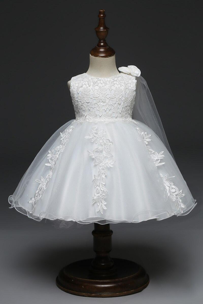 Baby Party Dress christening dress Flower girl dress 3 6 9 12 18 24 months