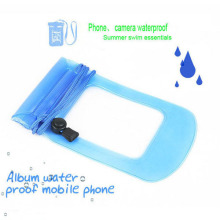 100PCS\lot Waterproof Pouch Dry Bag Case Water Proof Cover Holder For Cell Phones MP3 Watch(China)
