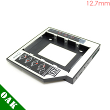 [Free Shipping] 12.7mm SATA to SATA Second HDD Caddy Enclosure for Laptop 2.5inch Hard Disk