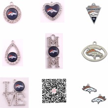 Denver Broncos Charms and Pendants For Football Fan Gift(China)