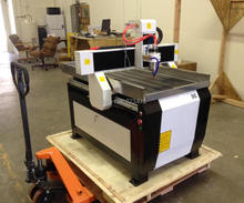 2.2KW spindle Mach3 with vacuum pump,dust collector, mini 3d cnc router 6090