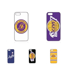 los angeles lakers basketball team logo Case Cover For Samsung Galaxy Note 2 3 4 5 7 edge lite A3 A5 A7 A8 A9 E5 E7 2016