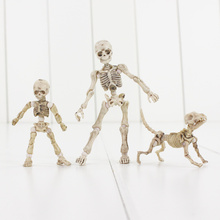 Pose Skeleton Mode PVC Figure Toy Human Child Dog Skeleton Body Chan Body Kun