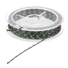 45LB 5m Nylon Braided Fishing Line Camouflage Lead Core Fish Line For Fly Fishing Rods Sea Fishing Tackle Accessories(China)