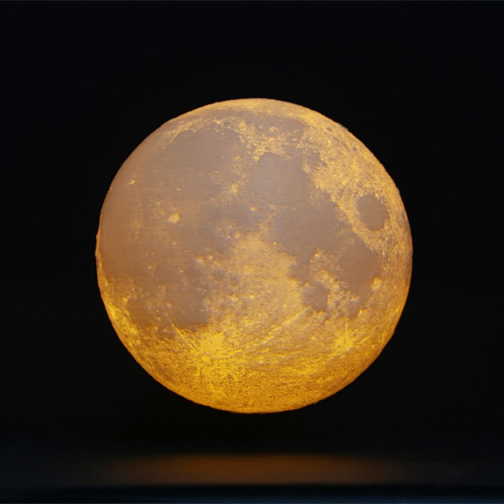 yellow moon night lights