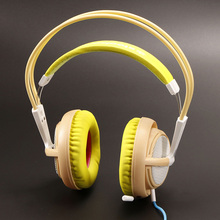 Steelseries Siberia V2 200 YELLOW Edition Gaming Headphone Noise Isolating Game Headphones Headset for Gamer(China)