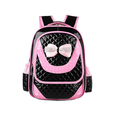 2016 New brand backpacks child quality school bag leather kids bags primary school girls bags teenagers girls cute schoolbags
