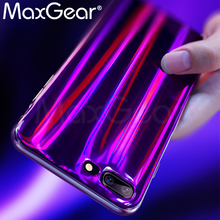Buy MaxGear Aurora Laser Mirror Case iPhone X 7 7Plus Soft Silicon Case iPhone 6 6S 6plus 6splus 8 8Plus Phone Back Cover for $3.04 in AliExpress store