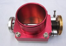 red  throttle  body with aluminum 70MM/80MM/90MM/100MM NECK transmission solenoid car styling car-covers car cover