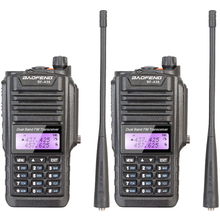 2PCS NEW Professional Walkie Talkie Waterproof BAOFENG BF-A58 With SOS FM Radio Station Ham Radio Two Way Transceiver