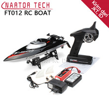 Hot Sale Original FT012 2.4G Brushless RC Boat Remote Control Boats for Kid Toys Gift(China)