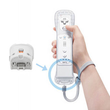 New Motion Plus Motion Plus Adapter Sensor for Nintendo Wii Console Remote Wireless Wiimote Controller & White Wholesale