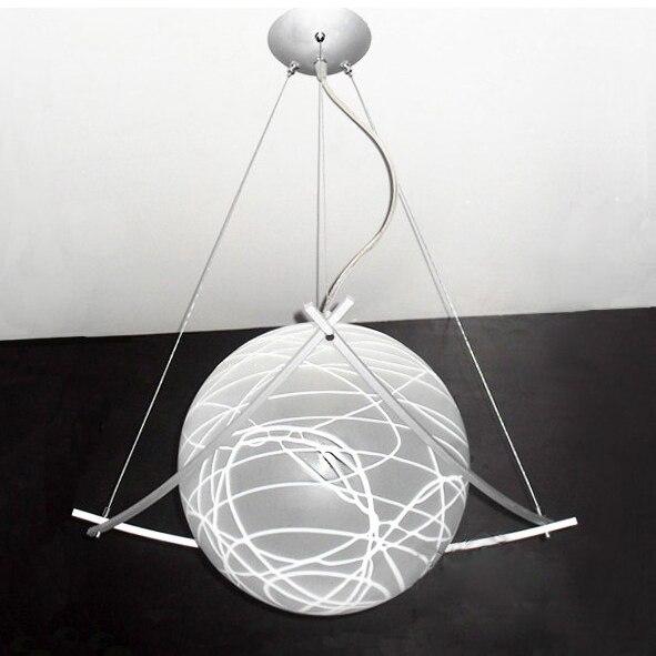Modern Diameter 25cm/ 30CM Glass Shade Pendant Light Lighting Fixture Drawing Parlor Dinning Room Bedroom E27 Bulbs<br><br>Aliexpress
