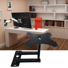 "Besegad 14""-42"" Articulating Adjustable Swivel Tilt LCD LED TV Wall Mount Stand Bracket TV Holder Monitor soporte 50kg TV pared(China)"