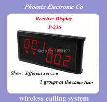 Restaurant Wireless Pager System,Competitive price, Show different service and Show two group number,  free freight by DHL