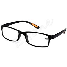 New Resin Framed Eyeglass Reading Glasses +1.0 1.5 2.0 2.5 3.0 3.5 4.0 Diopter Black Brown