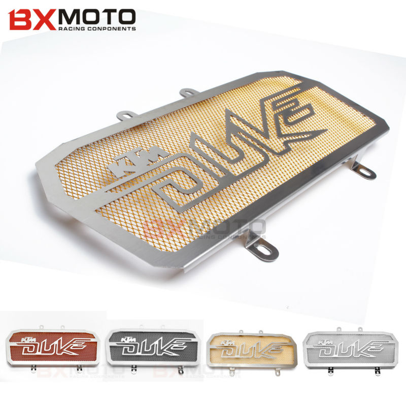 Hot Motorcycle Radiator Grill Guard Cover Protector Radiator Protection Motorbike Accessories For KTM Duke 390<br>