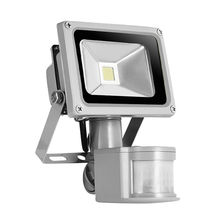 10W sensor COB flood light 85-265V searchlight with motion sensor  PIR flood led lamp LED street light projector led floodlight