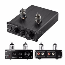 2017 Lastest Nobsound HiFi 6J1 Vacuum Tube Amplifier Stereo Tube Preamp Digital With Treble&Bass Tone Control Free Shipping(China)