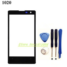 Original High Quality 4.5'' FOR Nokia Lumia 1020 Touch Screen Digitizer Sensor Front Glass Lens panel + tools